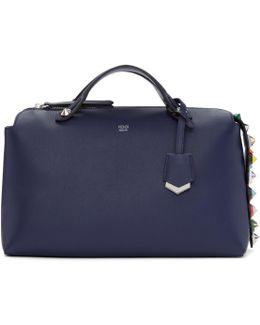 Navy Large 'by The Way' Boston Bag