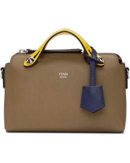 Taupe Mini 'by The Way' Boston Bag