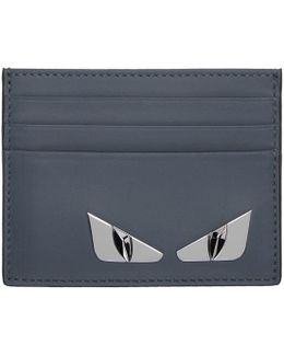 Blue 'bag Bugs' Card Holder