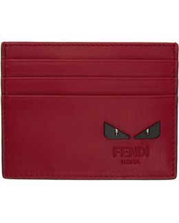 Red 'bag Bugs' Card Holder