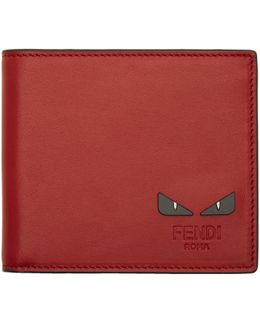 Red 'bag Bugs' Wallet