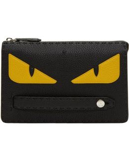 Black Small 'bag Bugs' Pouch