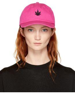 Pink Leaf Cap