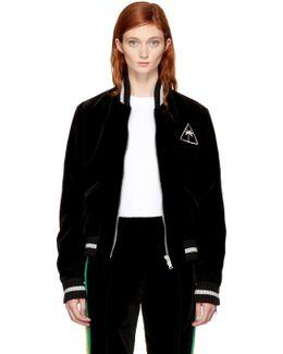 Black Velvet Palm Icon Souvenir Jacket