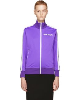 Purple Logo Track Jacket