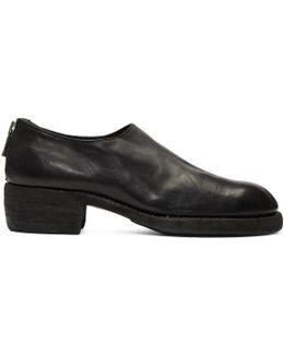 Black Zip-up Loafers
