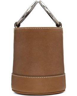 Tan Bonsai Bucket Bag
