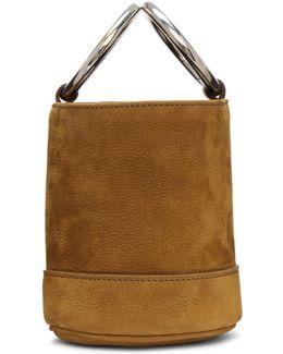 Brown Nubuck Bonsai Bucket Bag