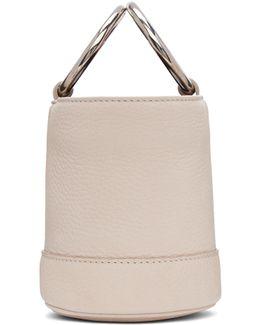 White Bonsai Bucket Bag
