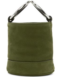 Green Bonsai Bucket Bag