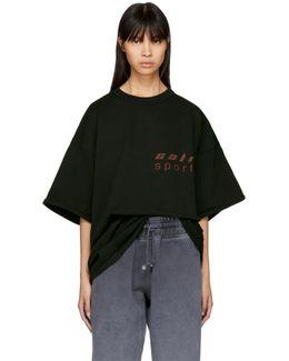 Black 'cali Sport' Classic T-shirt