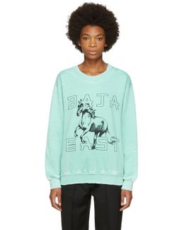 Green Horses Sweatshirt