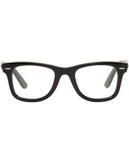 Black Wayfarer Ease Glasses