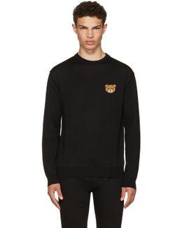 Black Teddy Sweater