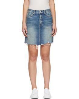 Blue Denim Gemma Miniskirt
