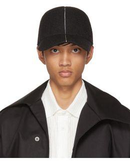 Black Felt Cap
