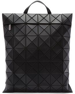 Black Flat Backpack