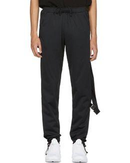 Black Pocketed Track Pants