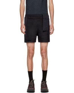 Navy Running Shorts