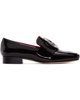 Black Patent Harput Loafers