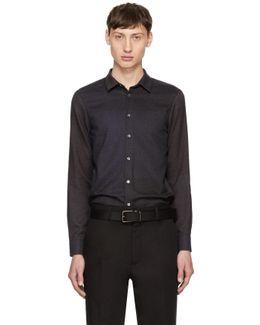 Navy & Grey Minute Shirt