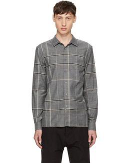Grey Plaid Minute Shirt