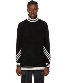 Black Knit Turtleneck