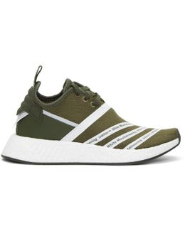 Green Nmd R2 Pk Sneakers