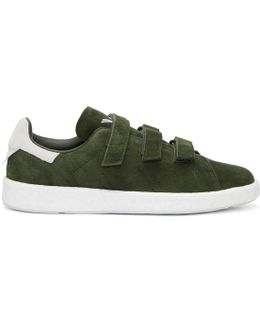 Green Stan Smith Cf Sneakers