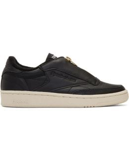 Black Club C 85 Zip Sneakers