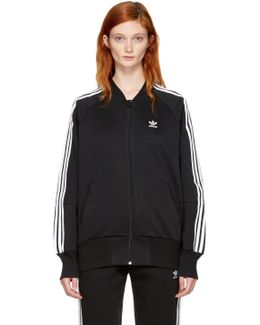 Black 3-stripes Track Jacket