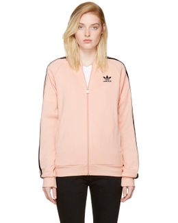 Pink Superstar Track Jacket