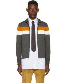 Grey Emory Zip Sweater