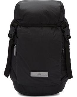 Black L Pad Backpack
