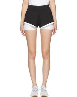 Black & White Climachill Utlimate Training Shorts