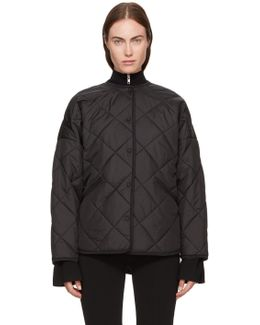 Black Quilted Dublin Jacket