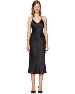 Black 60 Classic Slip Dress