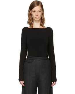 Black 13 Low Back Bodysuit