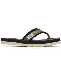 Green Tono V2 Flip Flop Sandals