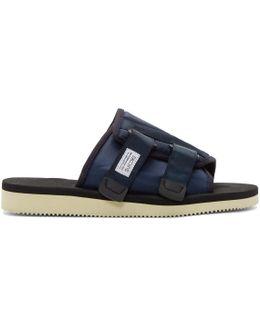 Navy Kaw Sandals