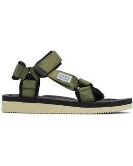 Green Depa V2 Sandals
