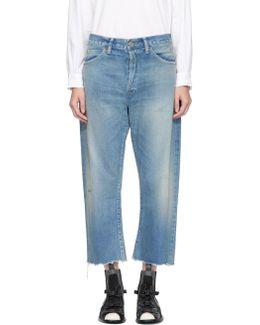 Indigo Selvedge Vintage Baggy Cut Jeans