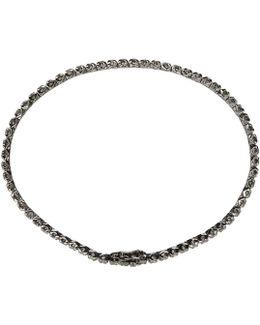 Black Gold Diamond Tennis Bracelet