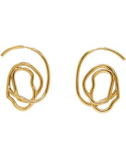 Gold Memphis Earrings