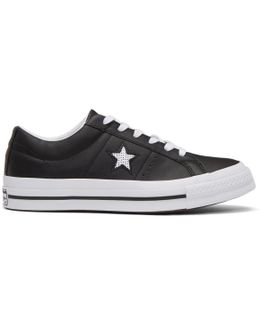 Black One Star Ox Sneakers