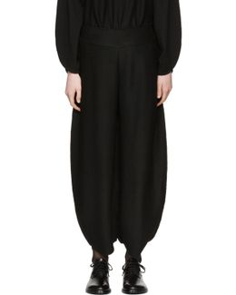 Black Oval Ap Trousers