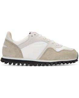 White Marathon Trail Gb Sneakers
