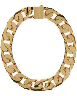 Gold New Classic Chain 1 Choker