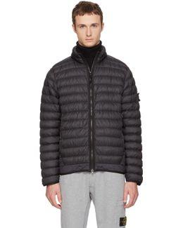 Black Lightweight Down Jacket