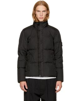 Black Down Puffy Jacket